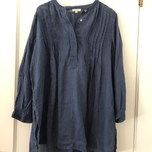 Wilfred linen blouse